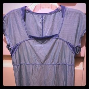 Lululemon Blue Work Out Top Size (6)